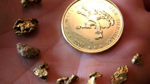 Goldwasch und Strahler Gesetze