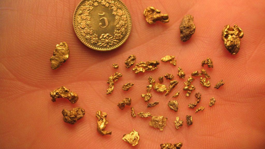 Firmen Event Goldwaschen