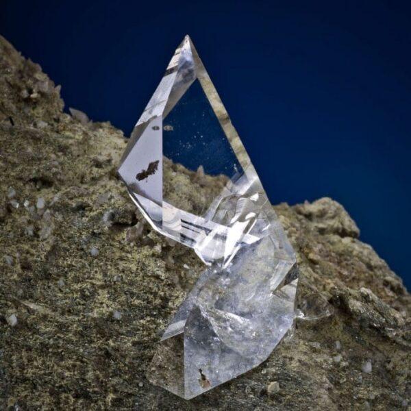 Cavradi Kristall verzehrt