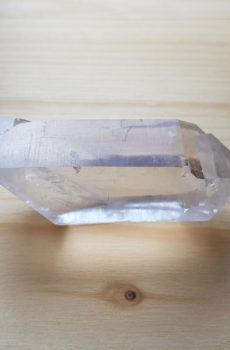 Bergkristall Doppelender Einzel Spitz