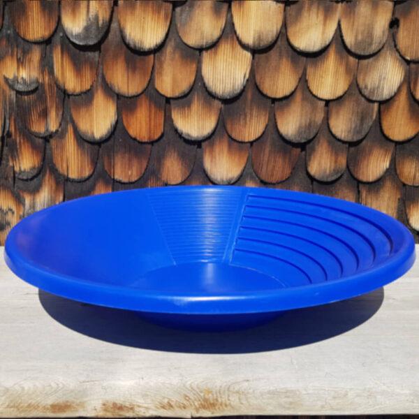 Goldwaschpfanne blau aurira GmbH