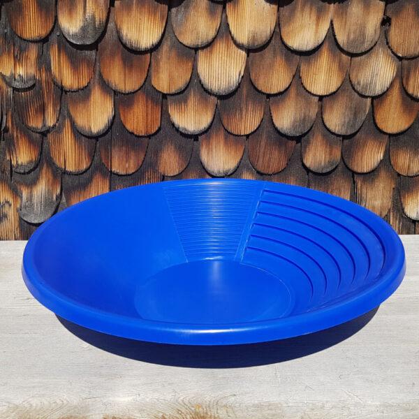 Goldwaschpfanne blau aurira GmbH zum Goldwaschen