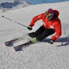 Schneesport mit Sandro Cavegn