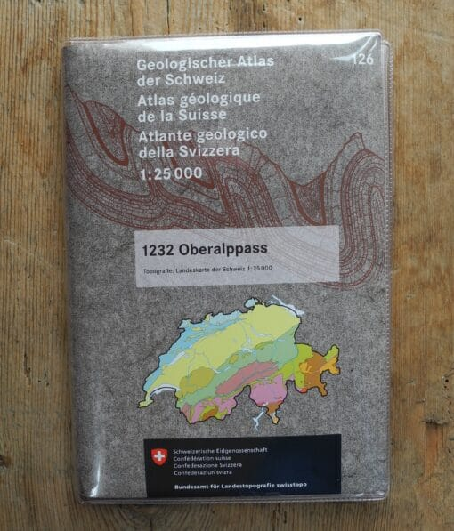 Geologischer Atlas – 1232 Oberalppass
