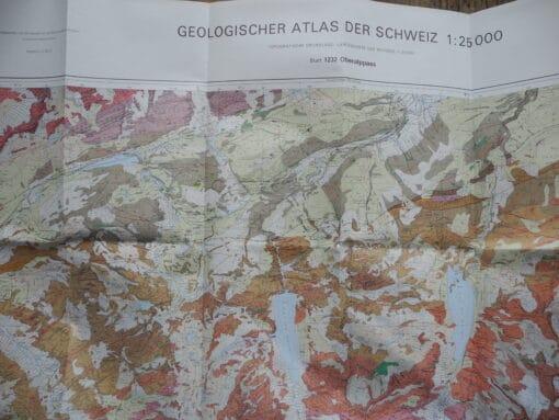 Geologischer Atlas – 1232 Oberalppas