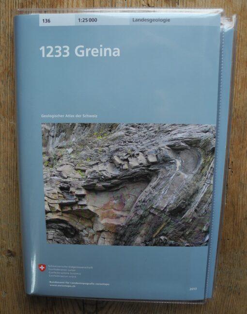 Geologischer Atlas - 1233 Greina