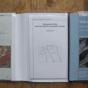 Geologischer Atlas - 1212 Amsteg