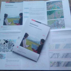 Kartenlesen Infoblatt von swisstopo