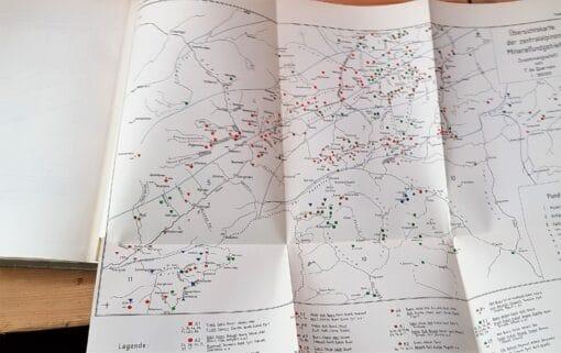 Die Mineralfunde der Schweiz von R.L. Parker 4